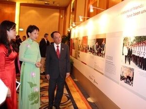 Photo exhibition marks Vietnam-Singapore diplomatic ties