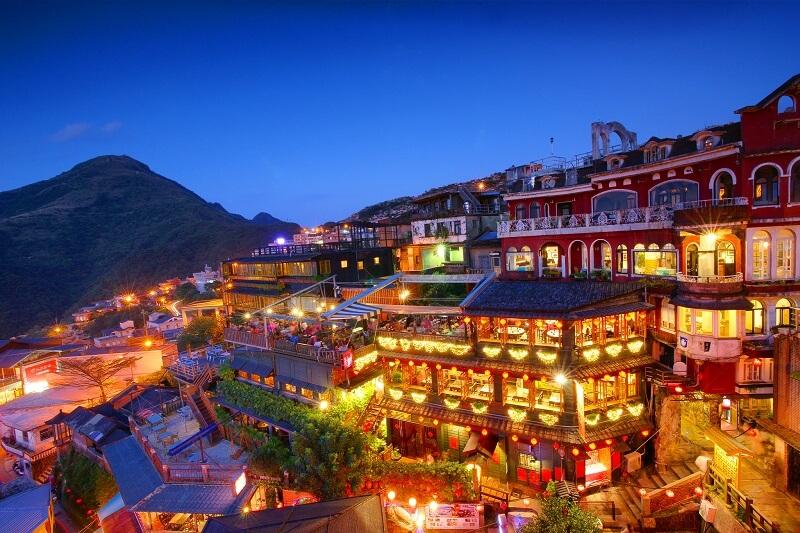 Làng cổ Thập Phần - Đài Loan
