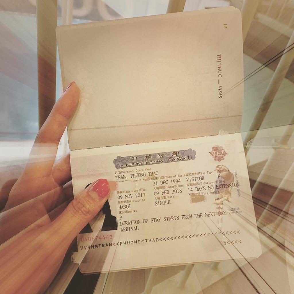 Visa du lịch Đài Loan 14 ngày