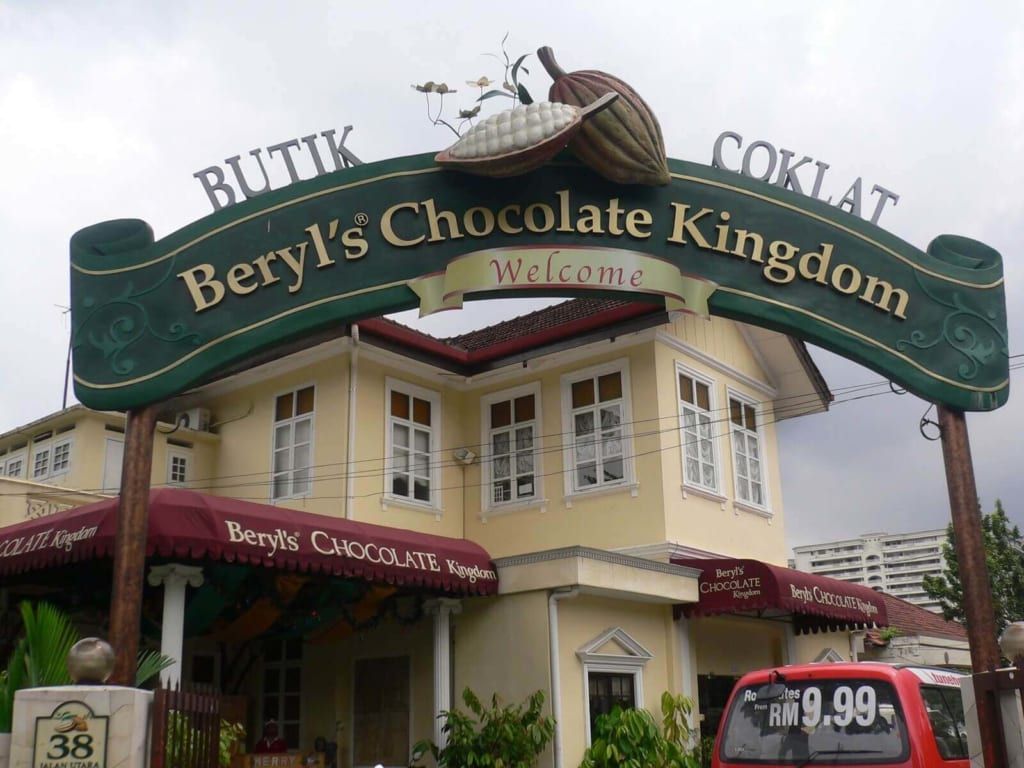 Nhà máy Beryl's Chocolate Kingdom trứ danh với các món chocolate thượng hạng