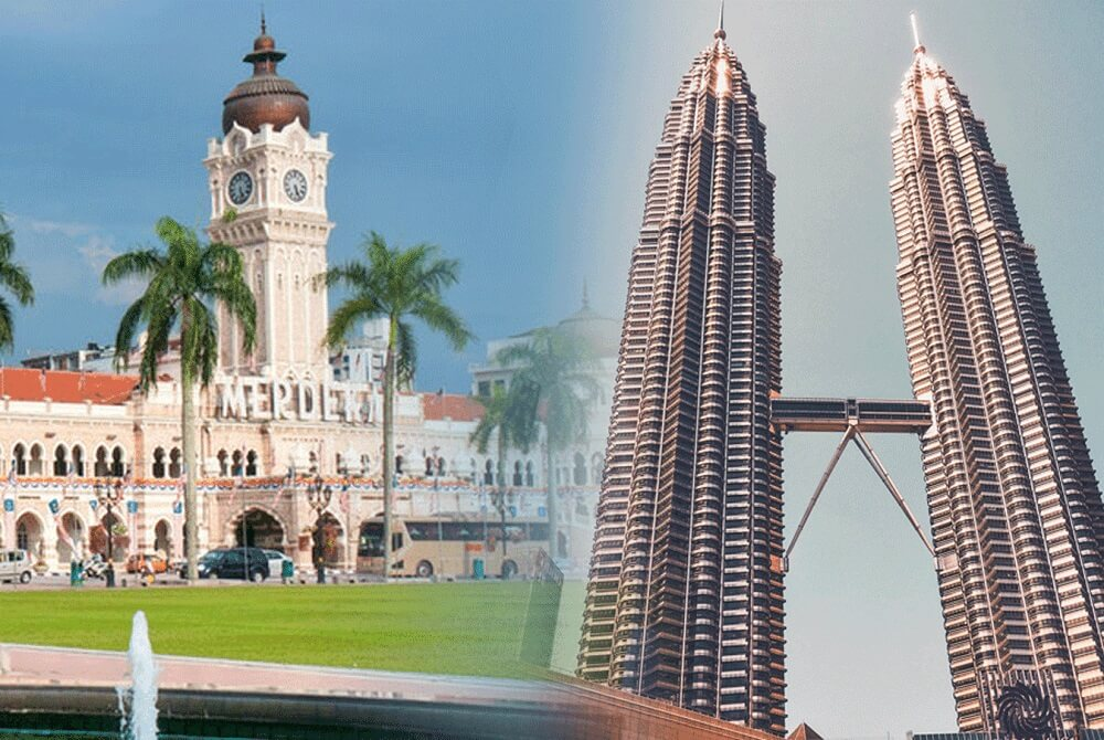 Quảng trường Độc lập & Tháp đôi Petronas – 2 biểu tượng của Malaysia