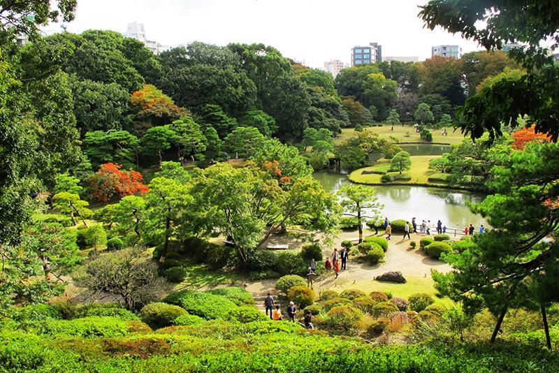 Công viên Rikugi-en