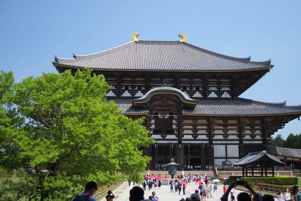 Hoàng Cung là nơi ở của Nhật Hoàng