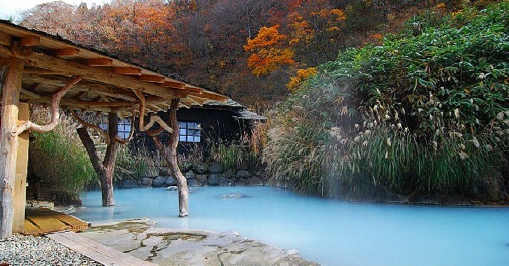Suối nước nóng Nyuto-onsenkyo