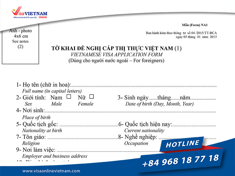 How to get Vietnam visa from Thailand