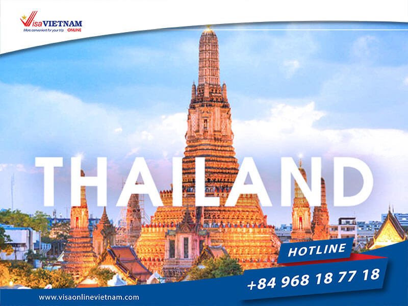 Requirements of Vietnam visa from Thailand